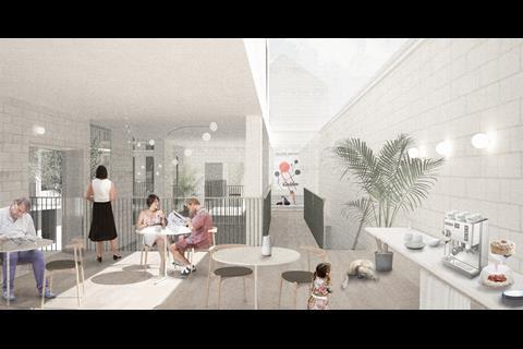 Duggan Morris' co-living proposals for east London
